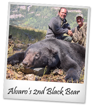 Alvaro takes yet another trophy black bear